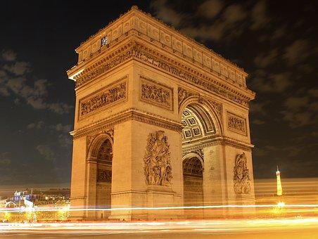 Paris, Landmark, Moviment, Architecture, Building