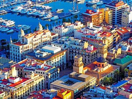 Alicante, Mediterranean, Sea, Costa, Landscape, Spain