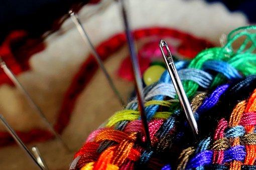 Needle, Thread, Sew, Tailoring, Craft, Bobbin