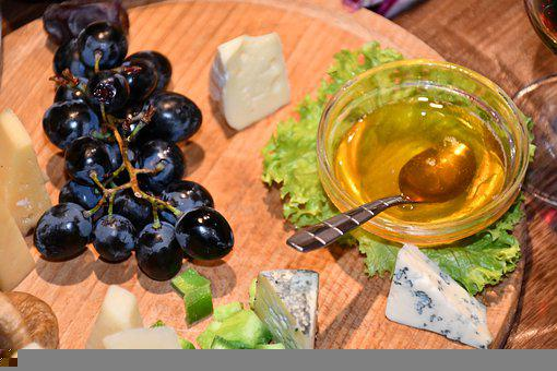 Cheese, Rep, Honey, Food