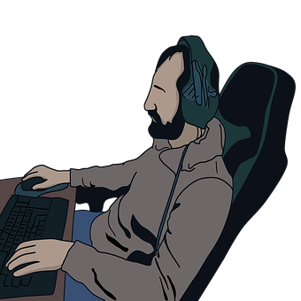 Gamer, Gaming, Play, Video Game, Computer Games, Man