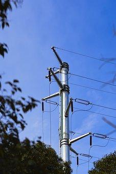 Sky, High-voltage, Line