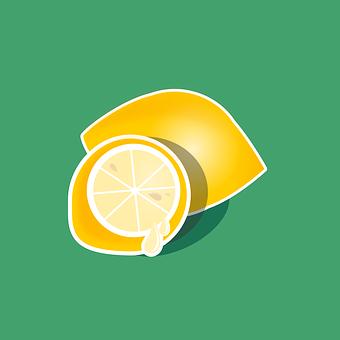 Lemon, Fruit, Juicy, Sour, Healthy, Yellow, Green