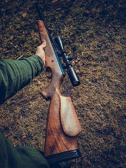 Gun, Rifle, Pistol, Weapon, Shooting, Sports, Object