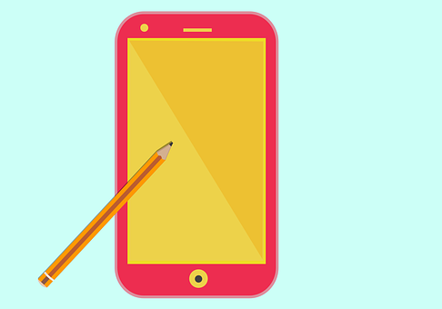 Mobile Phone, Screen, Pencil, Pen, Stylus, Touch Screen