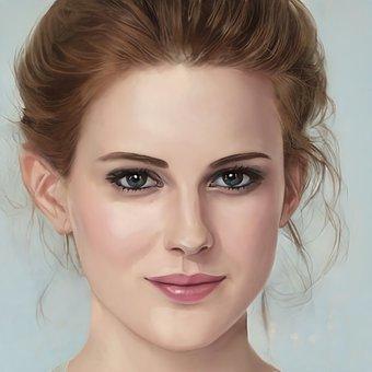 Beauty, Woman, Portrait, Face, Makeup, Lady, Female