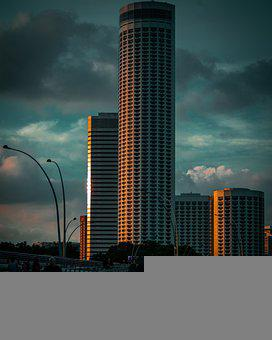 Hotel, City, Building, Singapore, Architecture