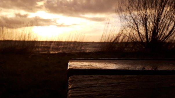 She, Water, Reflection, Sun, Sunset, Heaven, Vote