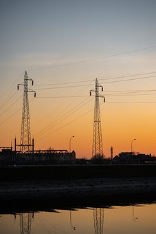 Transmission Towers, Utility Poles, Power Lines
