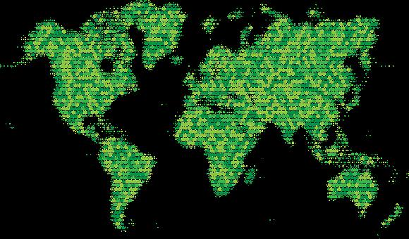Map, World, Marijuana, Leaf, Earth, World Map