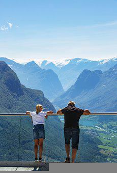 Norway, Fjords, Travel, Altitude, Beauty, People