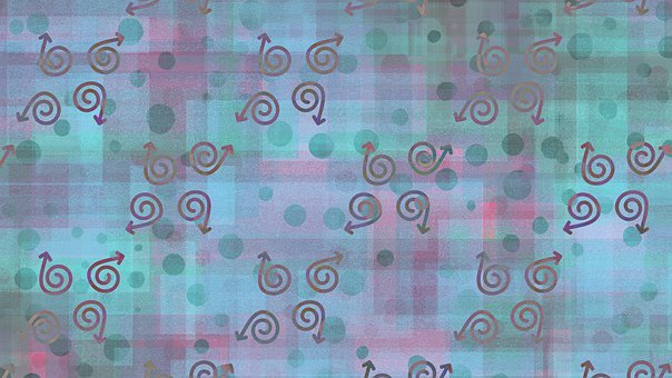 Abstract, Arrows, Bubbles, Background, Pattern, Swirl