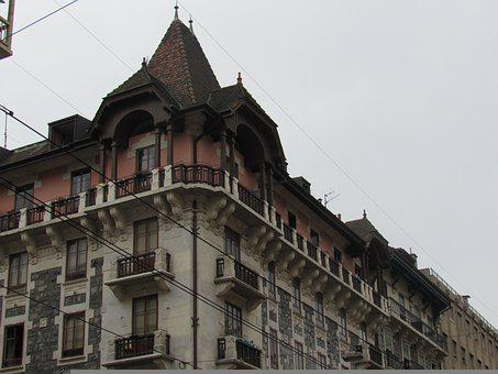 City, Architecture, Urban, Building, Buildings, Geneva