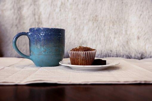 Cup, Mug, Cupcake, Muffin, Coffee, Tea, Coffee Break