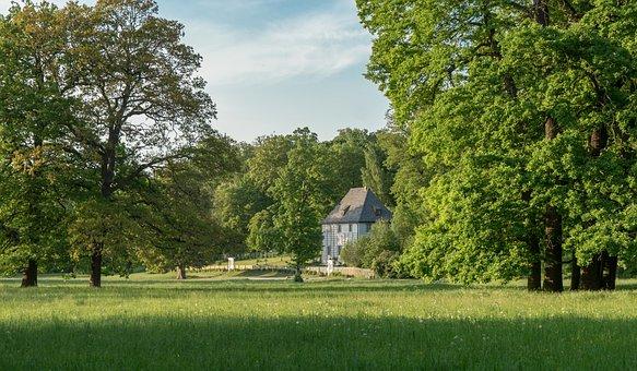 Garden Shed, Weimar, Goethe, Building, House, Travel
