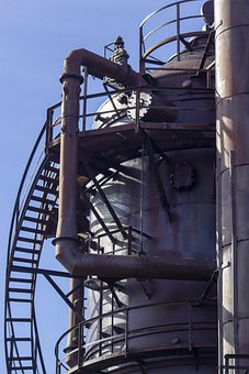 Gas Works, Industrial, Structure, Architecture