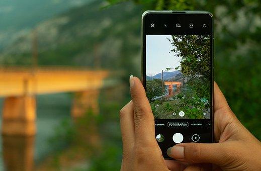 Mobile Phone, Photography, Bridge, Smartphone