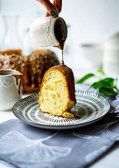 Bundcake, Food, Cake, Chocolates, Piece