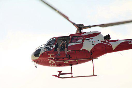 Helicopter, Rotor, Flying, Emergency, Rescue, Aviation