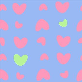 Hearts, Pattern, Background, Seamless, Seamless Pattern
