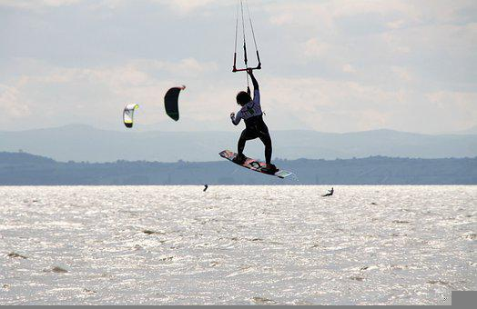 Surf, Kiting, Kite Surfing, Wind, Kite, Kitesurfing