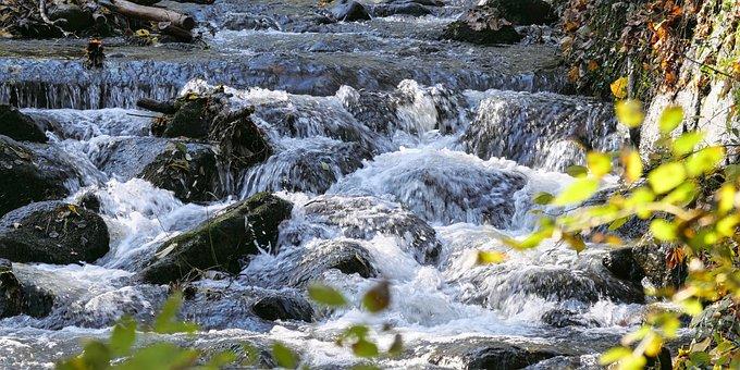 Cascades, Rocks, River, Cascading, Rapids, Water