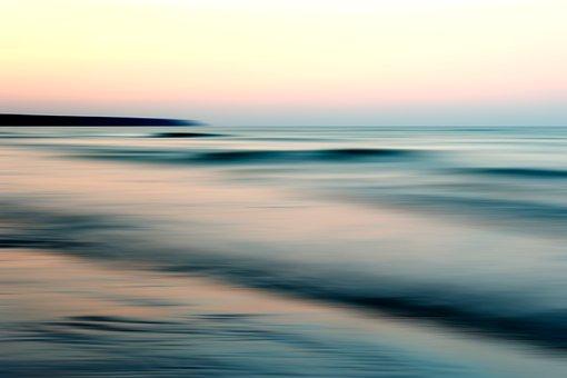 See, Ozean, Blau, Sonnenaufgang, Wasser, Landschaft