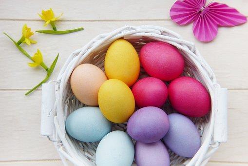 Easter, Easter Eggs, Basket, Easter Nest, Easter Basket