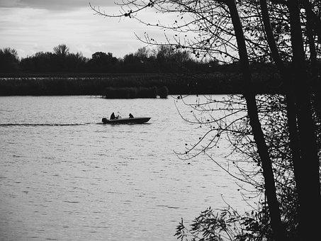 Lake, Boat, River, Water, Nature, Travel, Fishing, Ship