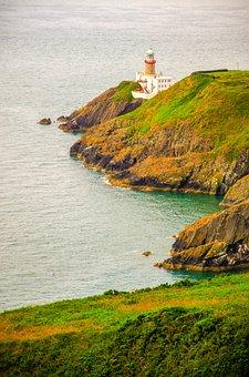 Lighthouse, Sea, Ocean, Sky, Tower, Coast, Water, Beach