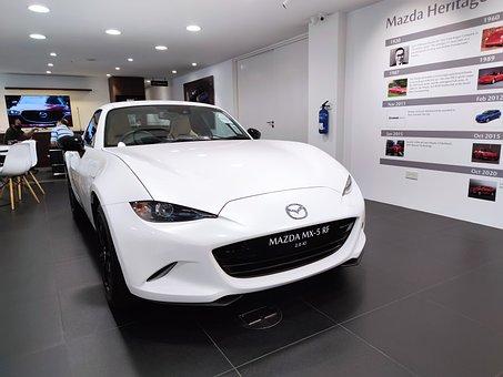 Car, Vehicle, Transport, Convertible, Mazda, Mx-5, Auto