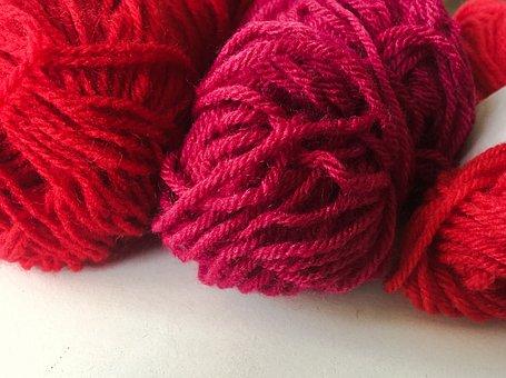Wool, Knitting, Pincushion, Points, Equipment, Wire
