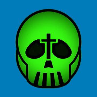 Skull, Toxic, Cross, Skeleton, Pirate, Mortal, Piracy