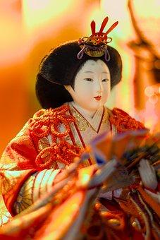 Doll, Hina, Toy, Decoration, Japan, Tradition, Japanese