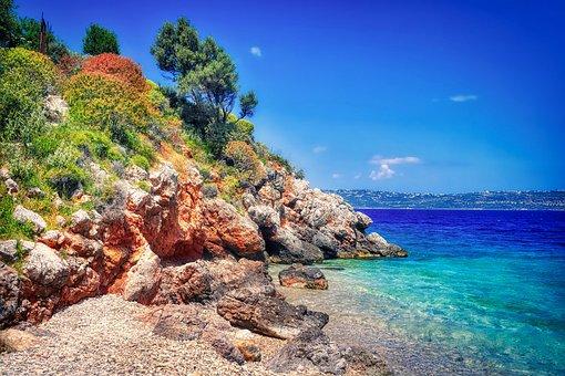 Coast, Swim, Vacations, Mediterranean, Beach, Water