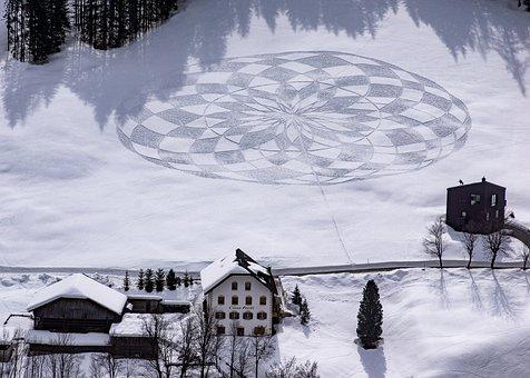 Snow, Art, Drawing, Artistic, Winter, Nature