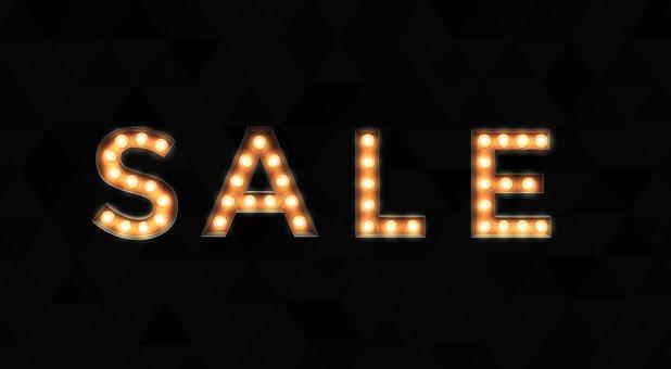 Sale, Background, Banner, Thanksgiving, Marketing