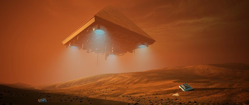 Camel, Pyramid, Desert, Sci-fi, The Fog, Sahara