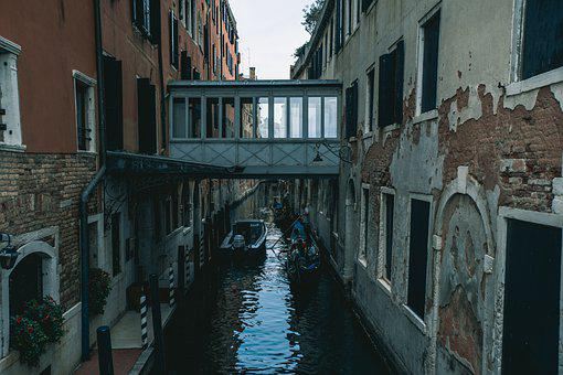 Venice, Holidays, Italy, Gondola, Water, Travel