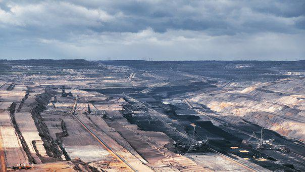Open Pit Mining, Hambach, Hambach Forest, Brown Coal