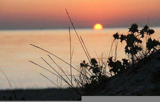 Vacations, Beach, Sardinia, Italy, Sea, Sunrise, Sunset