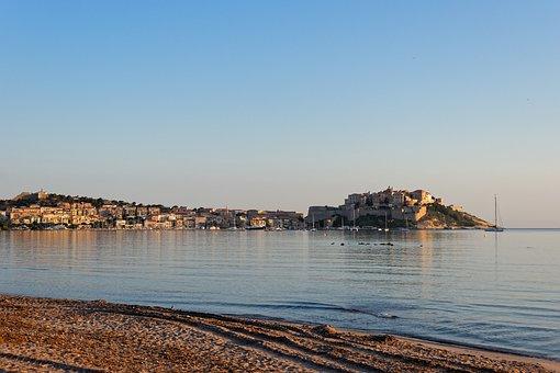 Landscape, Calvi, Corsica, France, Sea, Nature, Coast