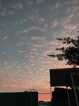 Sunrise, Cloudy, Nature, Epic, Sun, Landscape, Outdoor