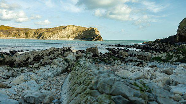 Lulworth Cove, United Kingdom, Dorset, England