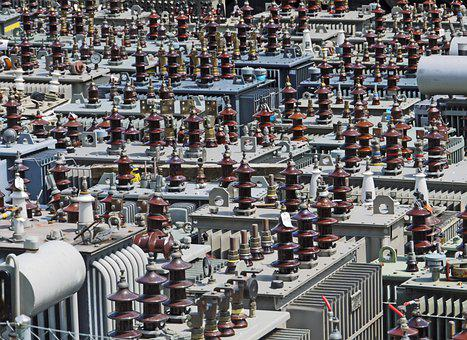 Builder's Yard, Transformers, Insulators, Power Supply