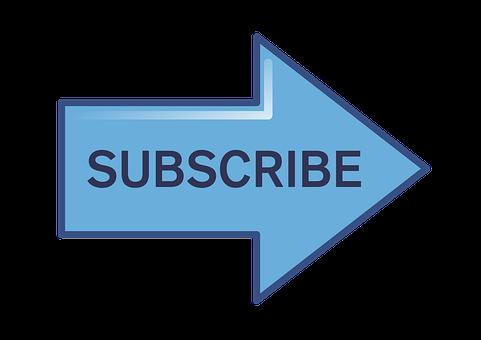 Subscribe, Subscribe Button, Arrow, Social, Button