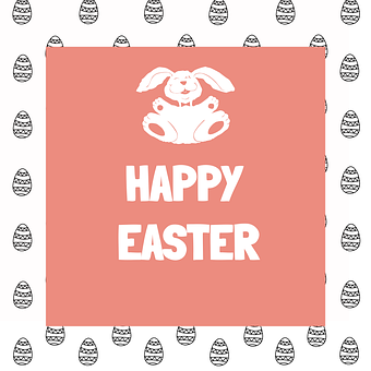 Easter, Eggs, Background, Pattern, Pastel, Happy Easter