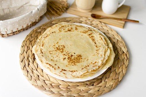 Pancakes, Dessert, Breakfast, Food, Nutrition, Baking