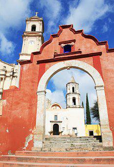 Church, Mexico, Architecture, Historically, Bell Tower