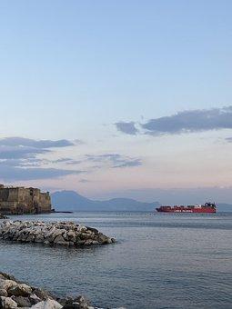 Sunset, Italy, Landscape, Europe, Geography, Sea